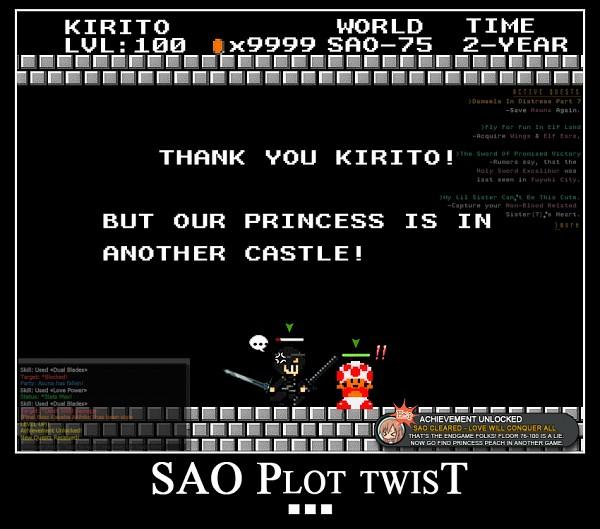 15 of the Funniest Sword Art Online Memes - 7