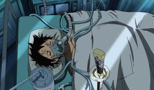 One Piece Luffy gear 4 injured