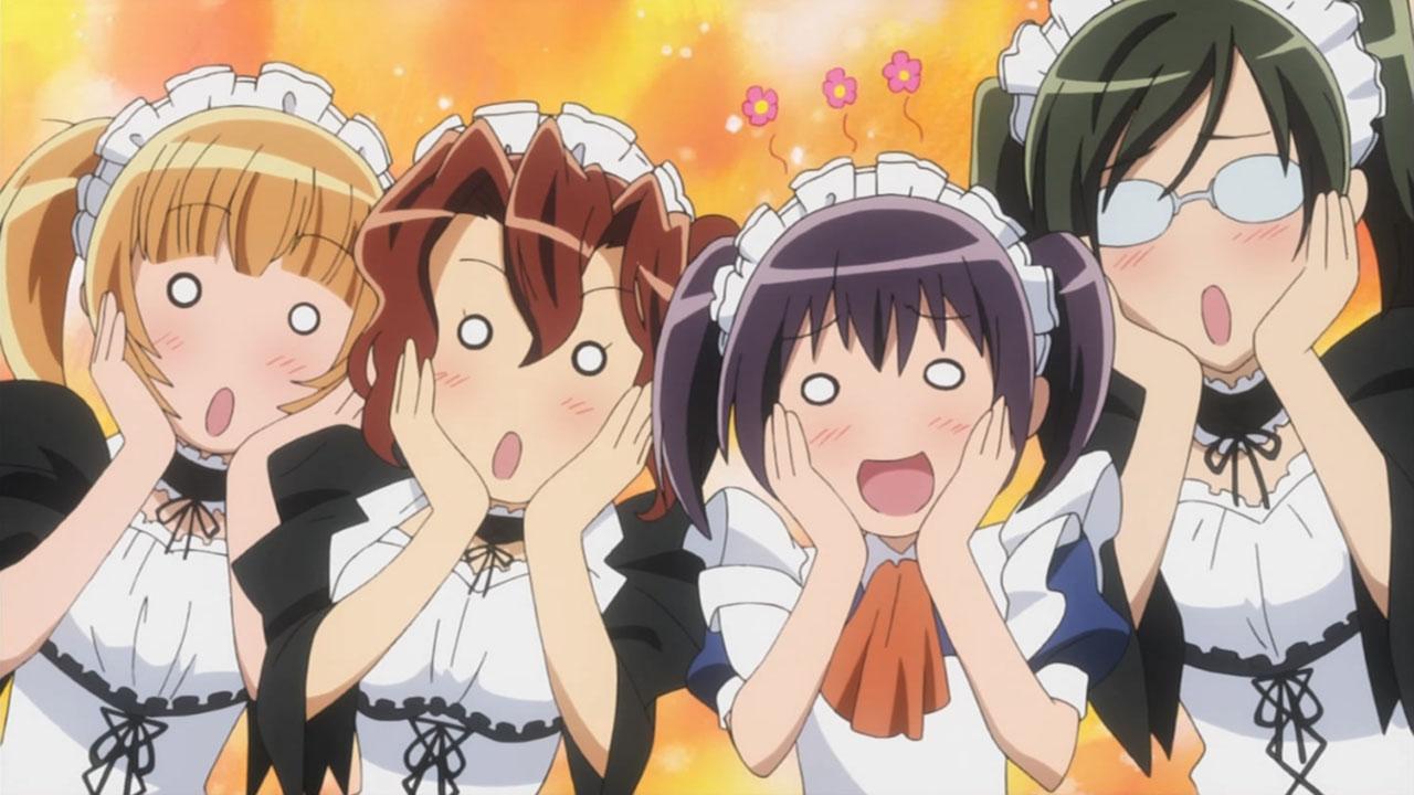 Kaichou wa Maid-sama! maid outfits are super cute!