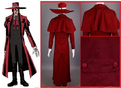 Hellsing anime jacket, Alucard