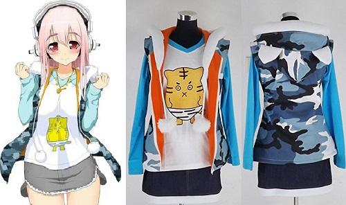 Mahou Shoujo Sonico★Magica anime jacket, Super Sonico