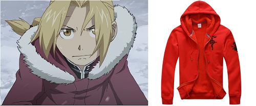 Fullmetal Alchemist: Brotherhood anime jacket, Edward Elric