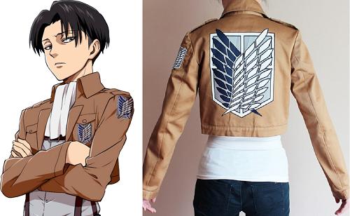 Shingeki no Kyojin anime jacket, Levi
