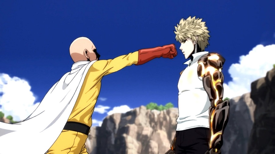 Saitama and Genos One Punch Man