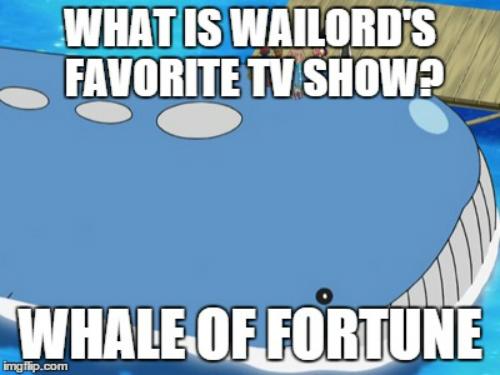 pokemon, wailord, funny, pun, joke