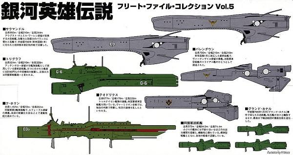 Ginga Eiyuu Densetsu Spaceships
