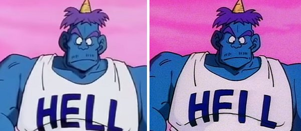 Hell vs HFIL dragon ball z
