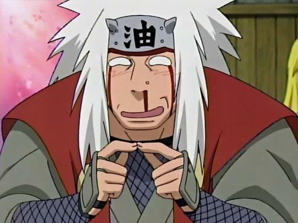Naruto Jiraiya nosebleed