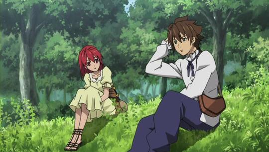 Cecily and Luke are from Seiken no Blacksmith, an anime like Kaze no Stigma.