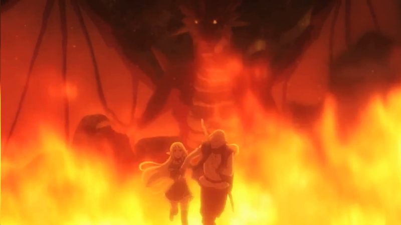 Check out these epic anime dragons, including the fire dragon from Gate!