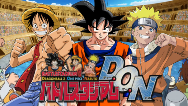 Battle Stadium D.O.N. is one of the greatest anime games and is based on Dragon Ball Z, Naruto, One Piece