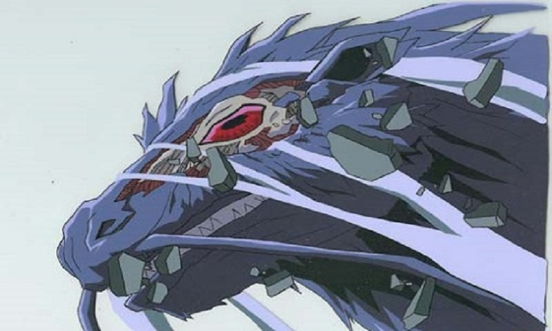 Check out these epic anime dragons, including Bloody Dragon from Majutsushi Orphen!