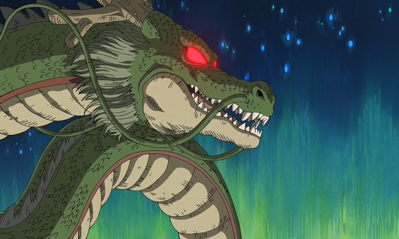Check out these epic anime dragons, including Shen Long from Dragon Ball Z!