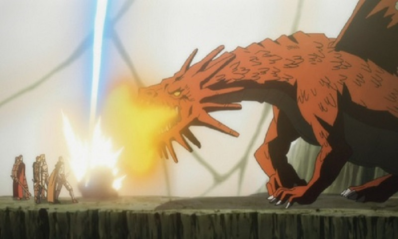 Check out these epic anime dragons, including One Winged Dragon from Druaga no Tou: The Aegis of Uruk!
