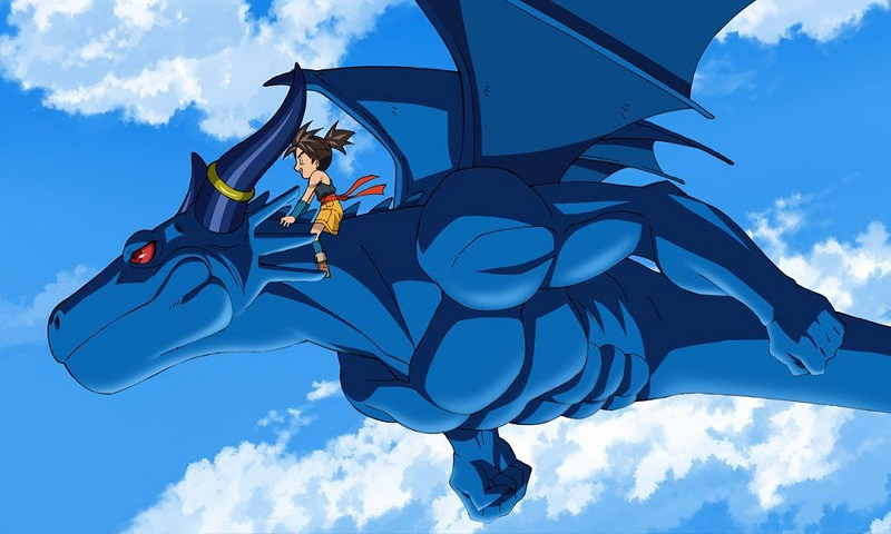 Check out these epic anime dragons, including Blue Dragon from Blue Dragon!