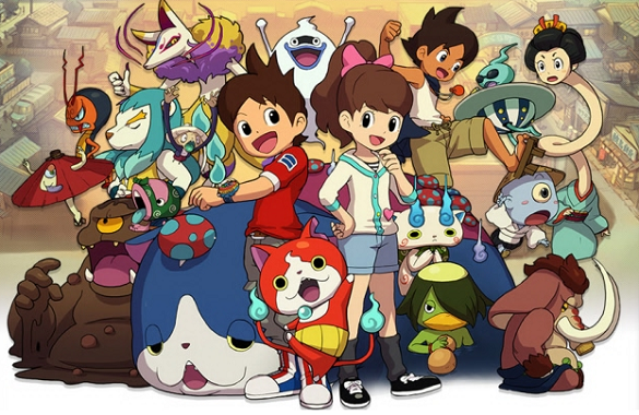 The Gang of Youkai Watch, types of anime, Youkai Watch