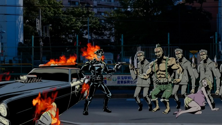 Inferno Cop weird anime