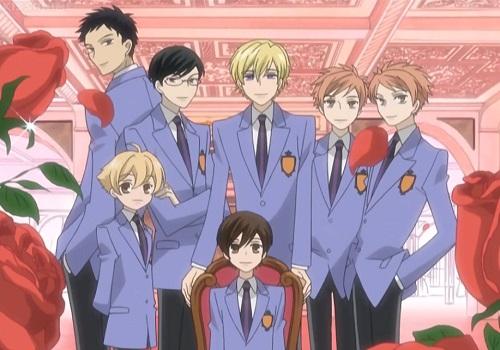 Reverse Harem Anime, Ouran Koukou Host Club