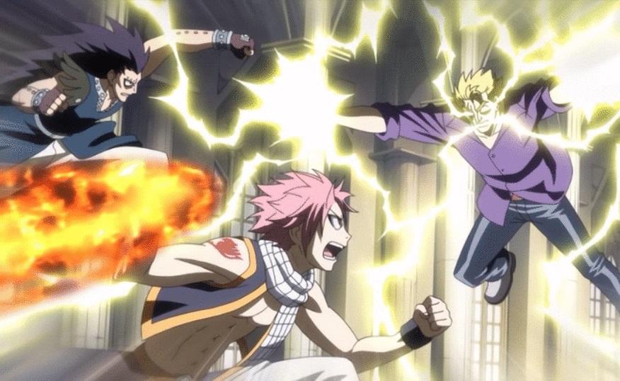 Fairy Tail: Natsu, Laxus, Gajeel What is Anime?
