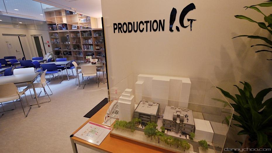 Production I.G Studio complex