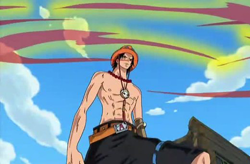 Anime Fire Users Ace from One Piece