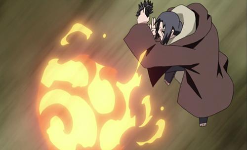 Anime Fire Users Itachi Uchiha from Naruto