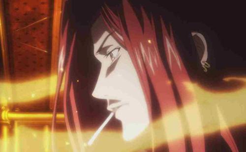 Anime Fire Users Stiyl Magnus from Toaru Majutsu no Index