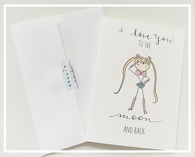 25 Anime Themed Valentine's Day Cards! Bishoujo Senshi Sailor Moon anime valentines