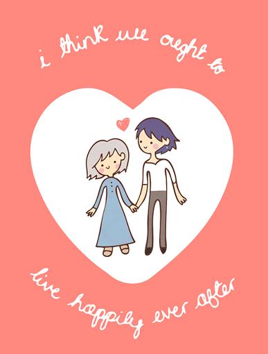 25 Anime Themed Valentine's Day Cards! Howl no Ugoku Shiro (Howl's Moving Castle) 2 anime valentines