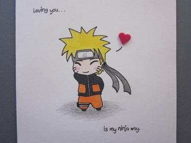 25 Anime Themed Valentine's Day Cards! Naruto 2 anime valentines