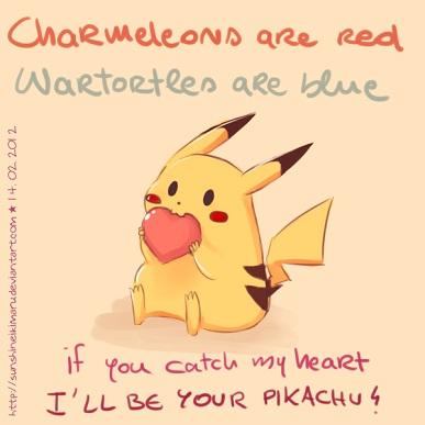 25 Anime Themed Valentine's Day Cards! Pokemon 3 anime valentines