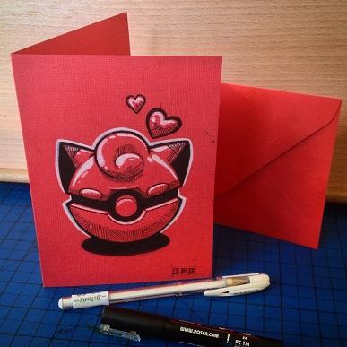 25 Anime Themed Valentine's Day Cards! Pokemon 4 anime valentines