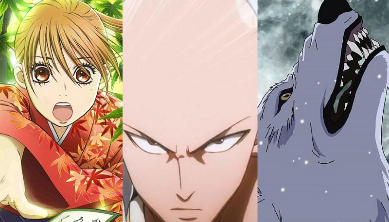 Chihaya, Saitama, Kiba, why we love anime