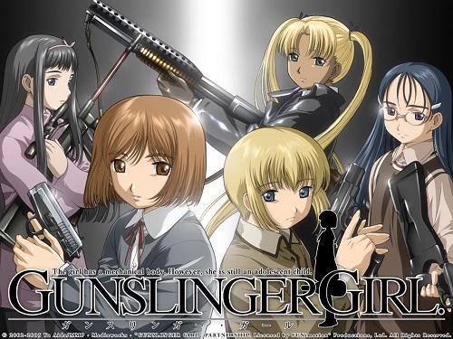 Gunslinger girl cyberpunk anime