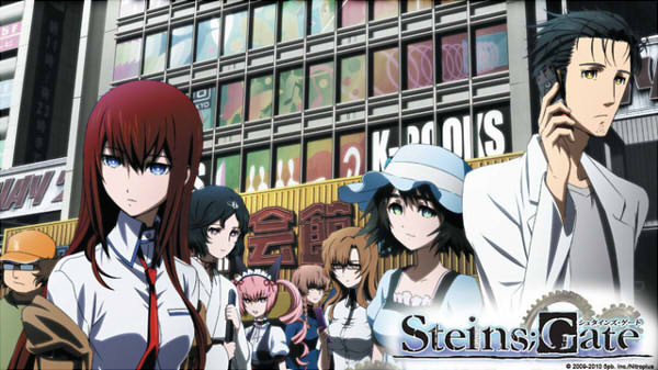 Steins;gate visual novel turned anime