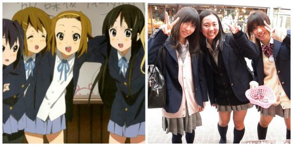 K-On!: Yui Hirasawa anime in real life in Japan