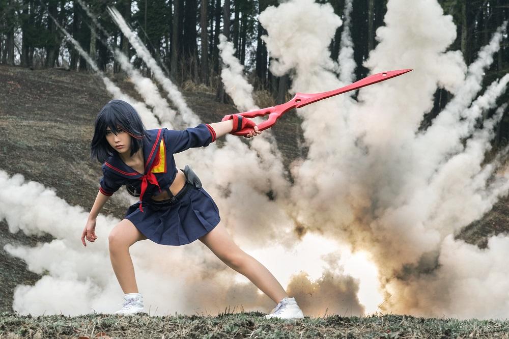 Kill la Kill cosplay Matoi Ryuuko