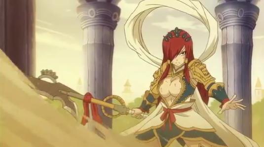 Erza's Nakagami, anime armor, Fairy Tail