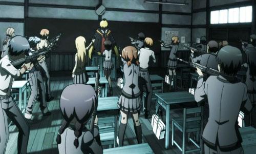 [Ansatsu Kyoushitsu] Entire Class, Firing Shot