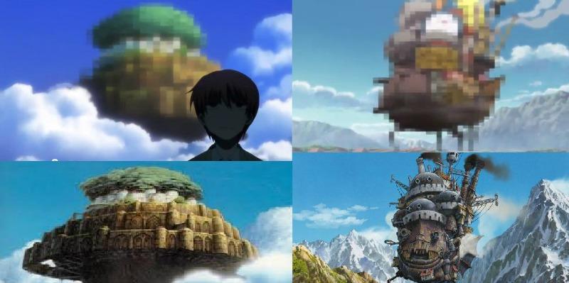 Angel Beats Studio Ghibli
