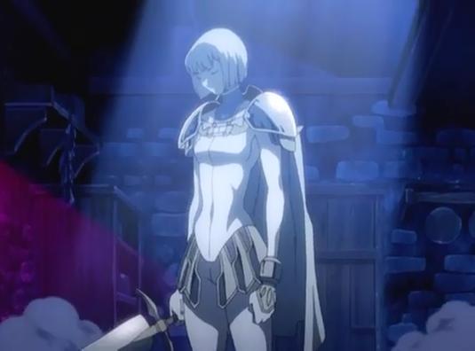 Clare's Claymore Armor, anime armor, Claymore