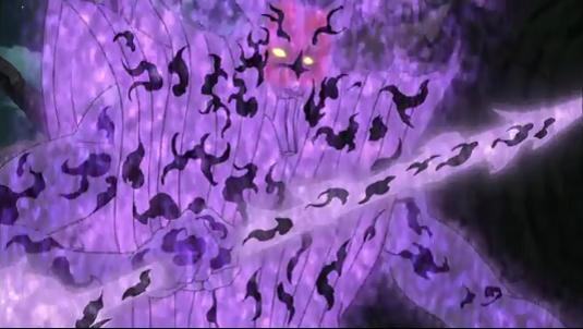 Sasuke Uchiha's Sage Juutsu Susanoo, anime armor, Naruto: Shippuuden