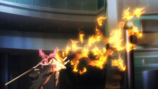 [Rakudai Kishi no Cavalry] Bishou and Stella Vermillion, Counterstrike