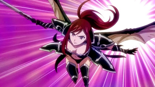 Erza fairy tail anime armor