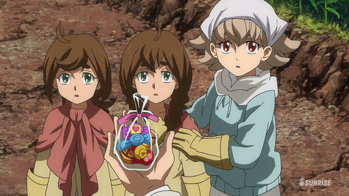 [Mobile Suit Gundam: Iron-Blooded Orphans] Child Soldier