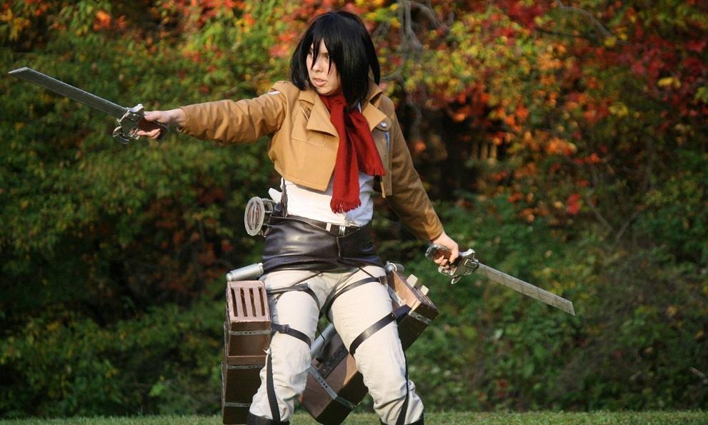 Shingeki no Kyojin Attack on Titan Cosplay Mikasa Ackerman