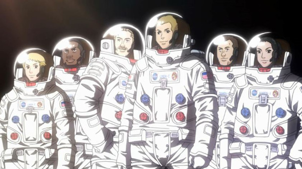 Most Frustrating Anime Endings Space Brothers anime cliffhanger