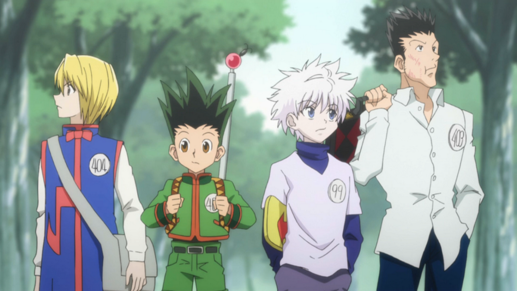HunterxHunter Hiatus group shot