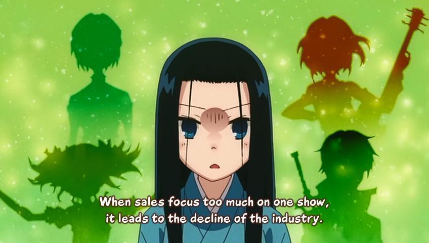 Joshiraku Anime