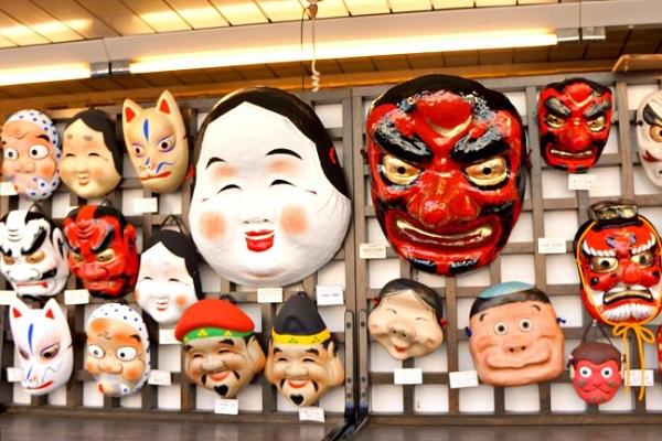 kitsune mask japan history and culture vs anime